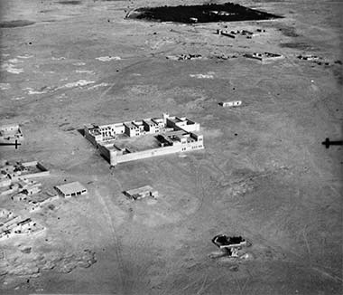 An aerial view of Rayyan, taken 9th May 1934 – courtesy of the British Library and Qatar Foundation