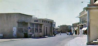The entrance to Breadshop Street, 1968 – image developed from a video with permission from glasney on YouTube