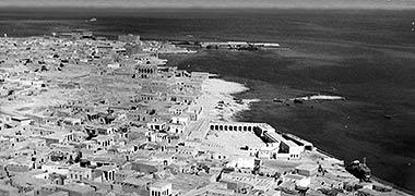 An aerial view over feriq al-Salata and feriq al-Hitmi – with permission from ?salat? on Flickr
