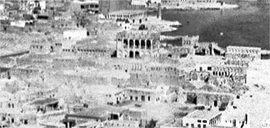 An aerial view from the south-east over feriq al-Salata – with permission from ?salat? on Flickr