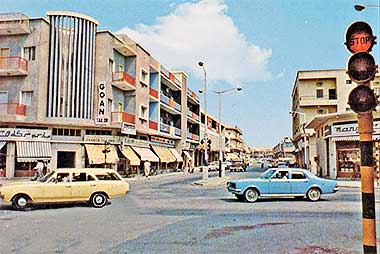 A view up Abdullah bin Thani street – with permission from ?salat? on Flickr