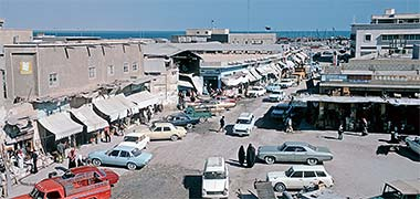 A view of the old suq looking north, February 1974