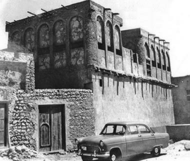 An old building near the centre of Doha – originally found on a number of internet sites