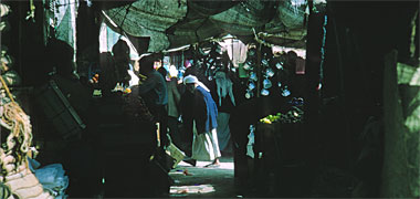 A view within the old suq in March 1972