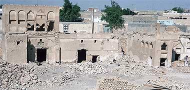 The complex of Sheikh Abdullah bin Jassim at feriq al-Salata seen around the early 1970s – courtesy of Ian Jones