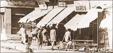 European women shopping in the old suq