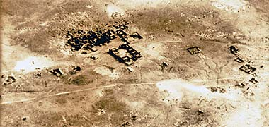 An aerial view of Rayyan in 1937 – clicking on the image will open the original image in a new window