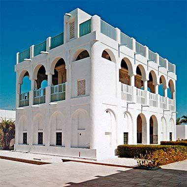 The reconstructed majlis of Sheikh Abdullah