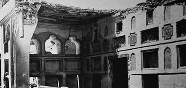 A room in Sheikh Ali's house