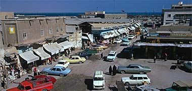 A view of the north end of the suq, March 1972