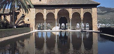 Islamic Gardens And Landscapes Arabic islamic gardens el partal in the upper alhambra granada workwithnaturefo