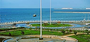 Infrastructure development for Diwan roundabout al ain