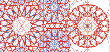 جزئیات هندسه زمینه نشان دادن برخی از خطوط ساخت و ساز
