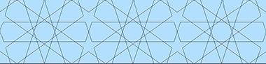 هندسه زمینه ای از طرح یک پانل درب مصر