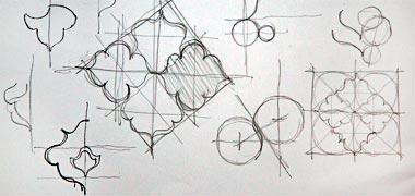 طرح نشات برای یک الگوی خط شکسته