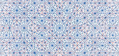 اساس طراحی هندسی از فرش Aradabil